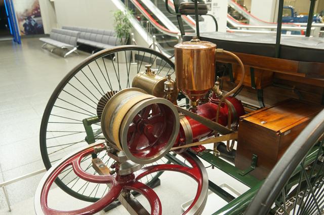 ベンツパテントのエンジン