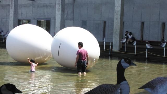 水あそび博覧会にて