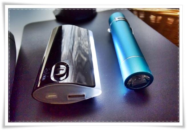 点灯するモバイルバッテリー