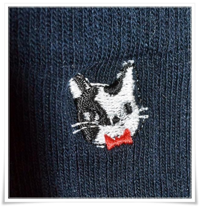 100均猫靴下