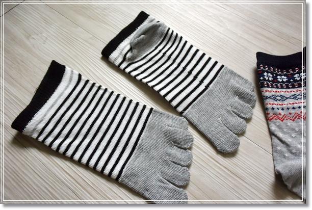 ダイソー 靴下 5本指