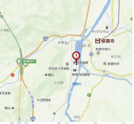 中伊豆地図