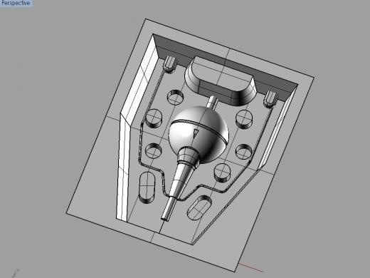 ダライアス外伝 グレートシング Modela切削用データ3