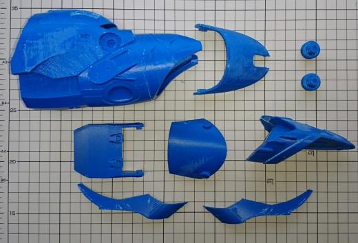 ダライアス外伝 グレートシング 3Dプリントパーツ