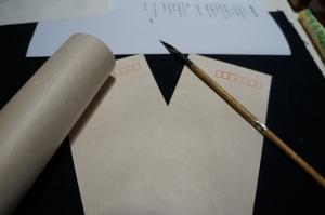 手紙を書く20
