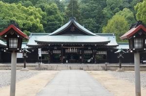 護国神社21