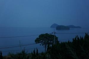 曇天の朝日21