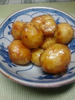 20170816小芋の甘味噌煮