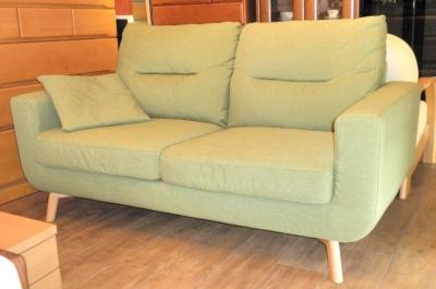 ニトリ2P緑
