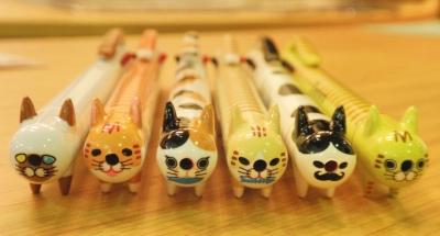 3色ねこペン
