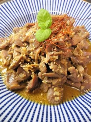 20170817鶏砂肝料理④