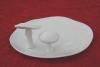 ドイツ白磁きのこ大皿1