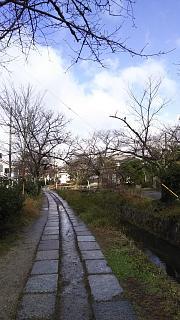 20161228銀閣寺道(その2)