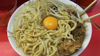 20170204ラーメン二郎三田本店(その10)