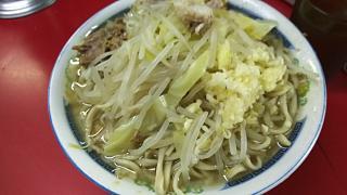 20170409ラーメン二郎目黒店(その1)