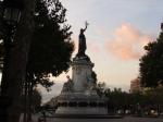 翌朝の共和国広場