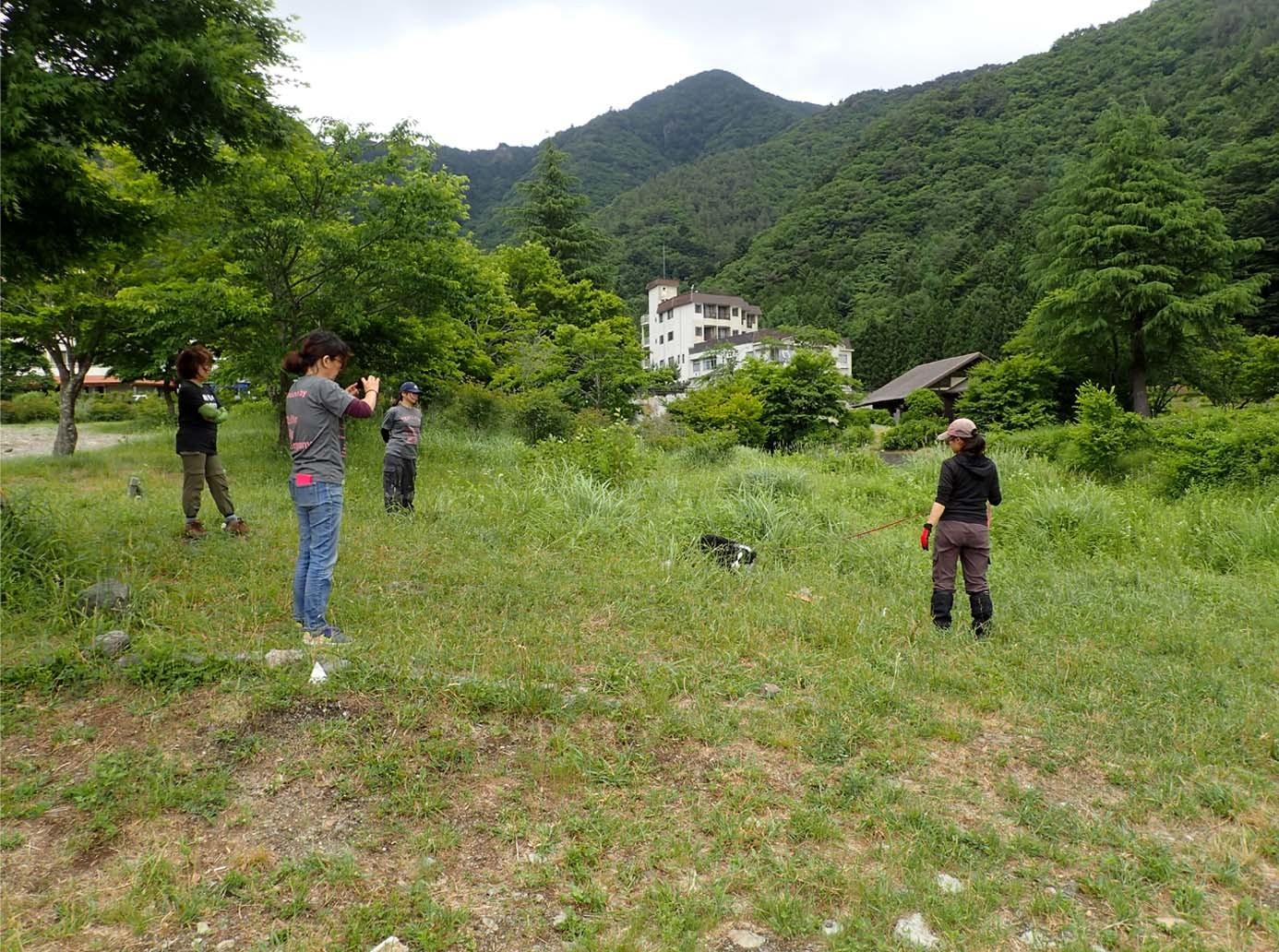 遺体捜索基礎訓練(6)