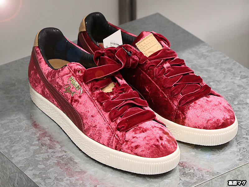 cdafbbe95c1a2f ... EXTRA BUTTER x PUMA CLYDE KINGS OF NEW YORK PACK 定価 各16200円 カラー ブルー ...