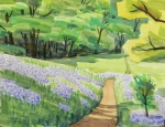 ダイコンの花咲く道