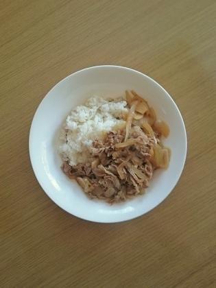 牛肉の生姜焼き丼