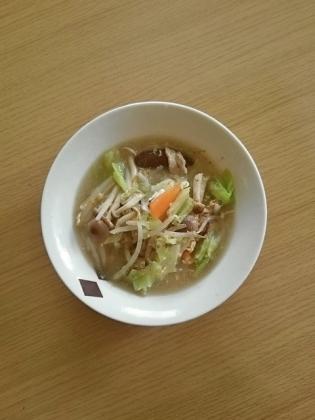 肉野菜スープ