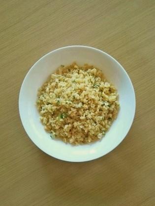 玉子とねぎのパラパラ炒飯
