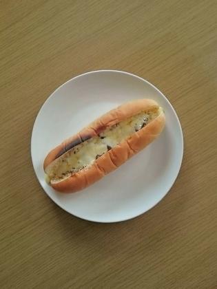 焼カレーチーズドッグ