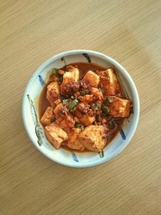 麻婆豆腐、麻婆豆腐ライス