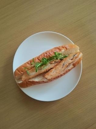 白身魚フライドッグ(ダブル)1