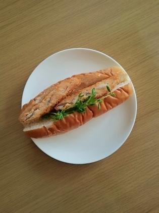 白身魚フライドッグ(ダブル)2