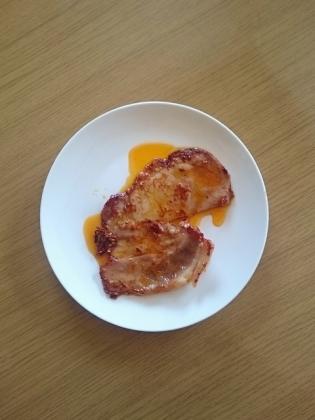 豚ロース味噌漬け焼き