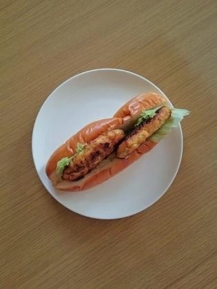 チキン&豆腐ハンバーグ(ハンバーガー・ドッグ)6