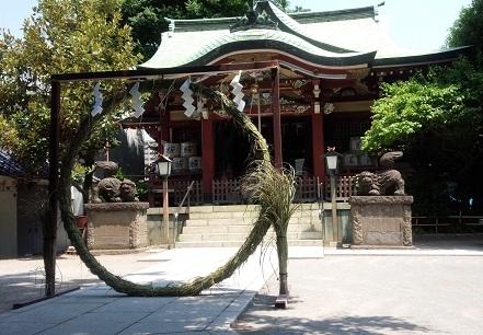 夏越の大祓本氷川神社(1)