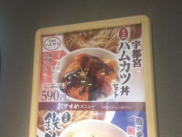 ハムカツ丼