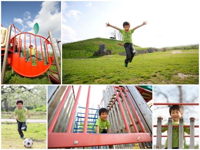 青森県 カメラマン 出張 キッズ ロケーション 同行 写真 撮影 子ども 記念 誕生日 家族 公園
