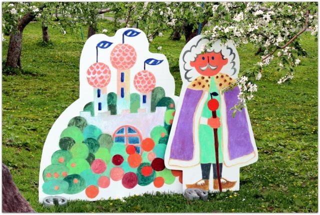 青森県 弘前市 りんご公園 りんご 花 写真