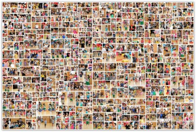 青森県 弘前市 保育園 運動会 練習 スナップ 写真 撮影 カメラマン 行事 イベント インターネット 販売 スナップ
