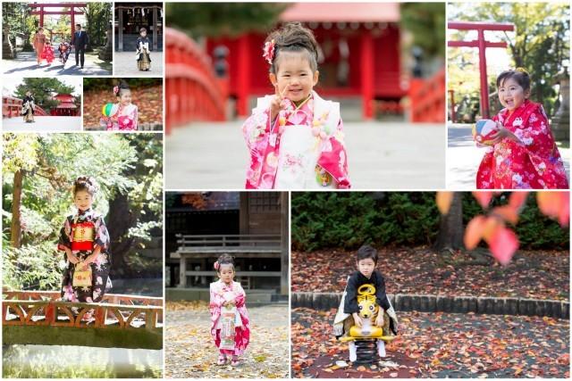青森県 神社 七五三 記念 写真 撮影 出張 カメラマン キッズ ロケーション お詣り お参り