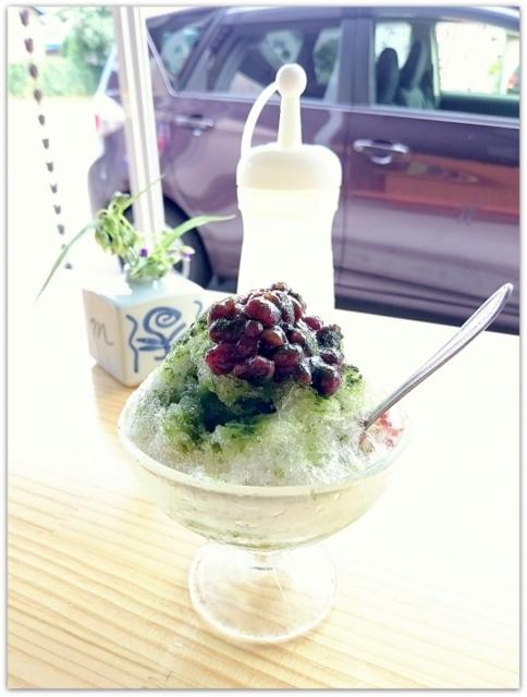 青森県 黒石市 お茶 竹の園茶舗 グルメ 老舗 かき氷