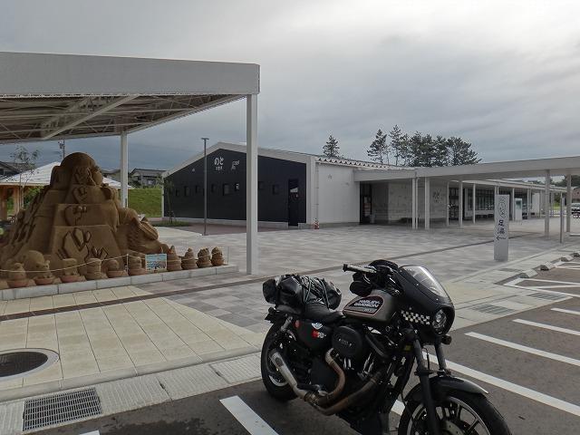 s-7:37道の駅「のと千里浜」
