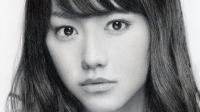 桐谷美玲の鉛筆画 完成までの一部始終 動画早送り @zYKPyvUvHOc