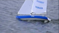 RCでヨットセーリング|YAMAHA ラウンド・ザ・ワールド♪TAMIYA製