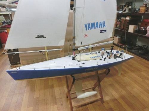 1a_RC 1/20 Yacht|YAMAHA ラウンド・ザ・ワールド♪TAMIYA製 fromヤフオク IMG_1394