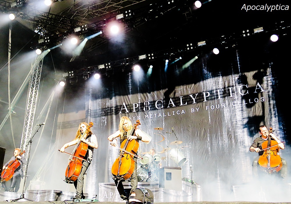 Apocalyptica Tuska Open Metal Festival Finland 2017