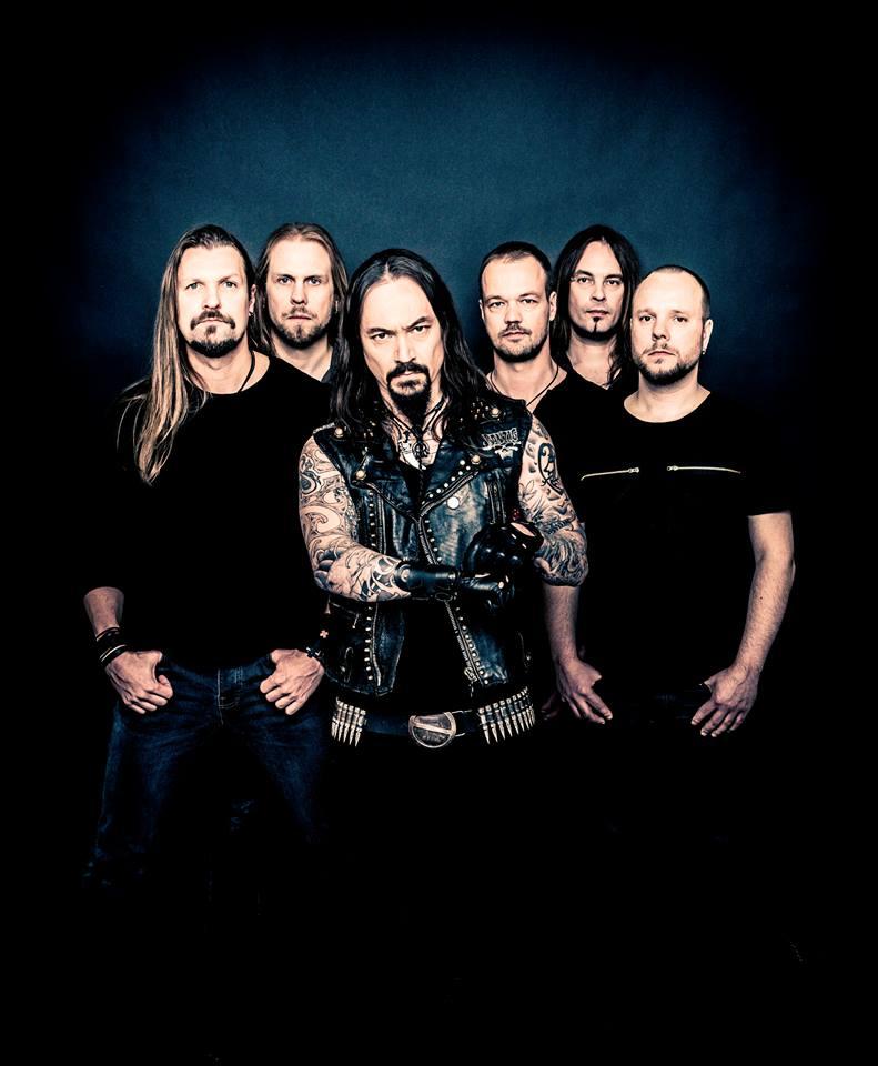 Amorphis promo Ville Juurikkala