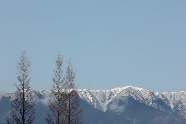比良の暮雪