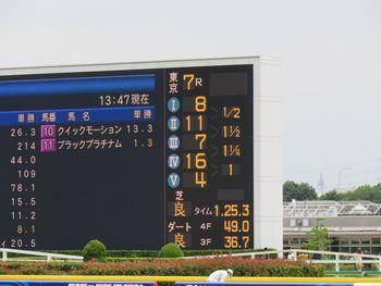 7レースの掲示板~