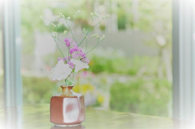 レストランの花1