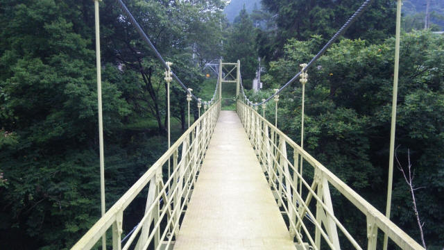 江代の吊橋(ユウキさん提供)