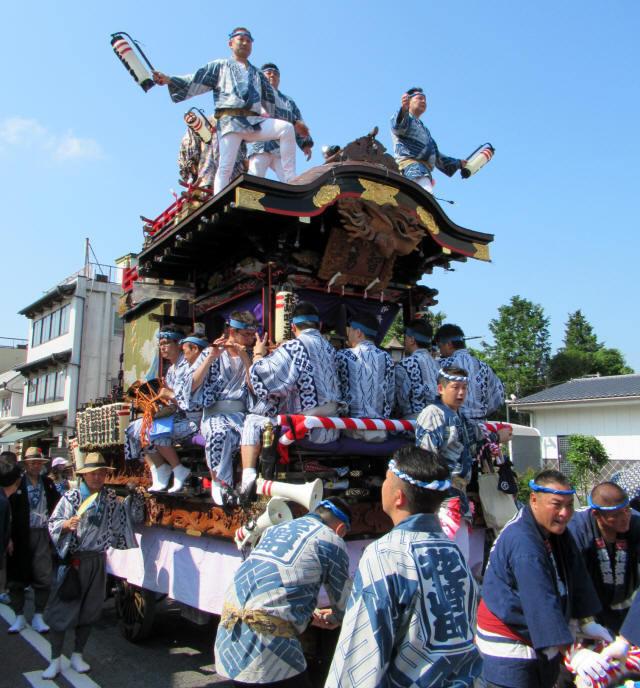 花崎町の山車7